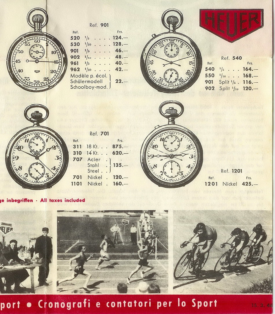 Precious Metals: Part I- The Heuer Years