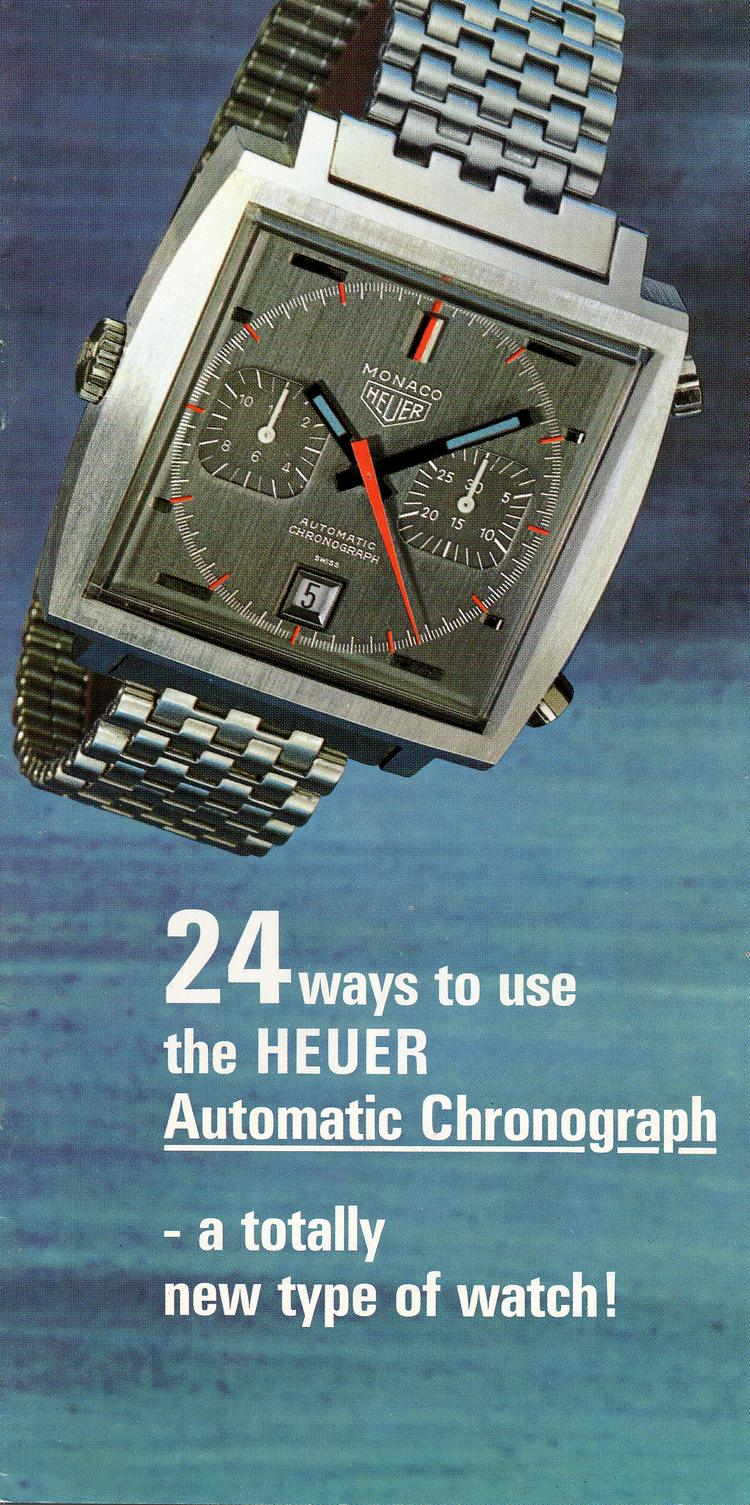 Heuer Chronograph Catalog -- 1970