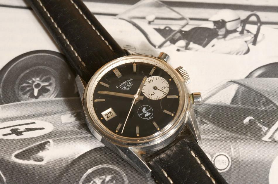 TimeZone : Public Forum » Vintage Heuer with Shelby Cobra Logo
