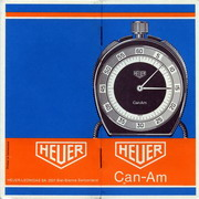 Instruction Booklet for Can Am Stopwatch