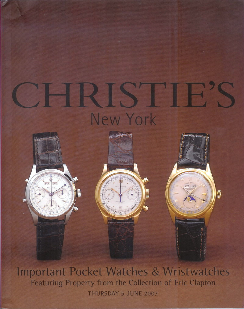 More of Eric Clapton's Watches