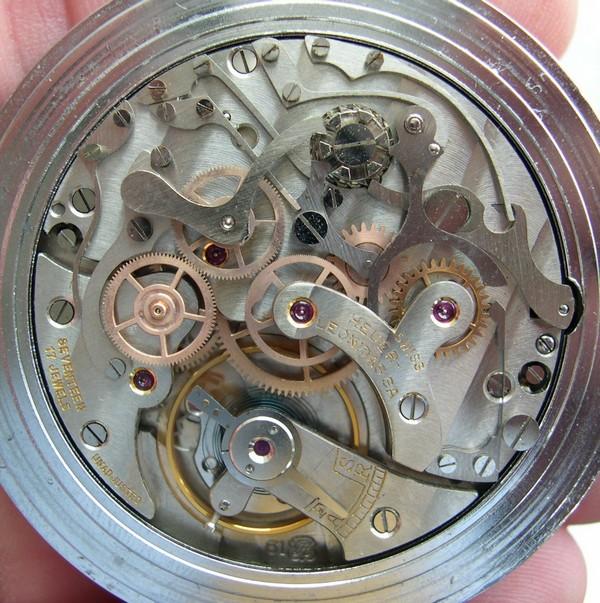 Popurri de calibres cronograficos de carga manual. Valjoux61