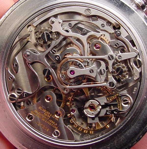 Popurri de calibres cronograficos de carga manual. Valjoux76R