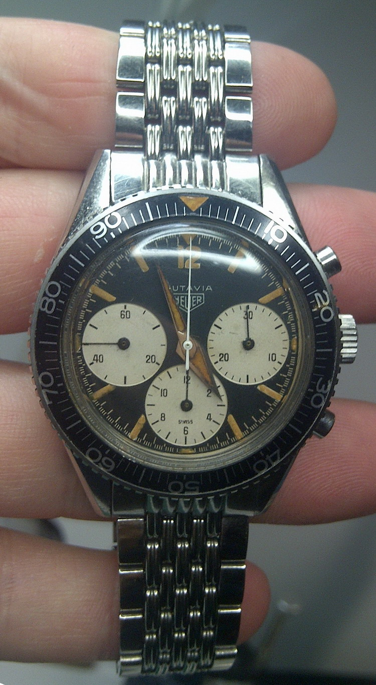 Autavia 2446 Decimal Minutes