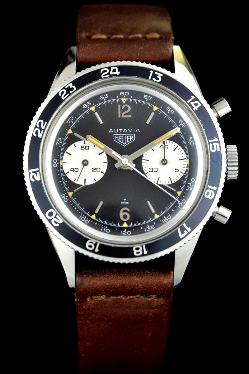 Autavia 3646 Tachy Scale on Dial