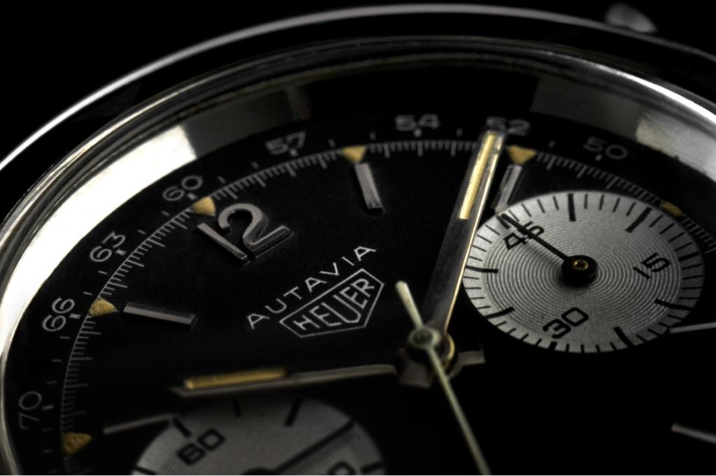 Autavia with Tachy Scale on Dial