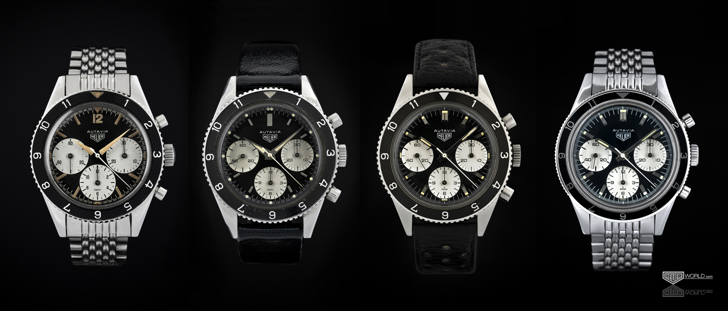 Sequence of Autavias -- 1960s Screw-Back Cases