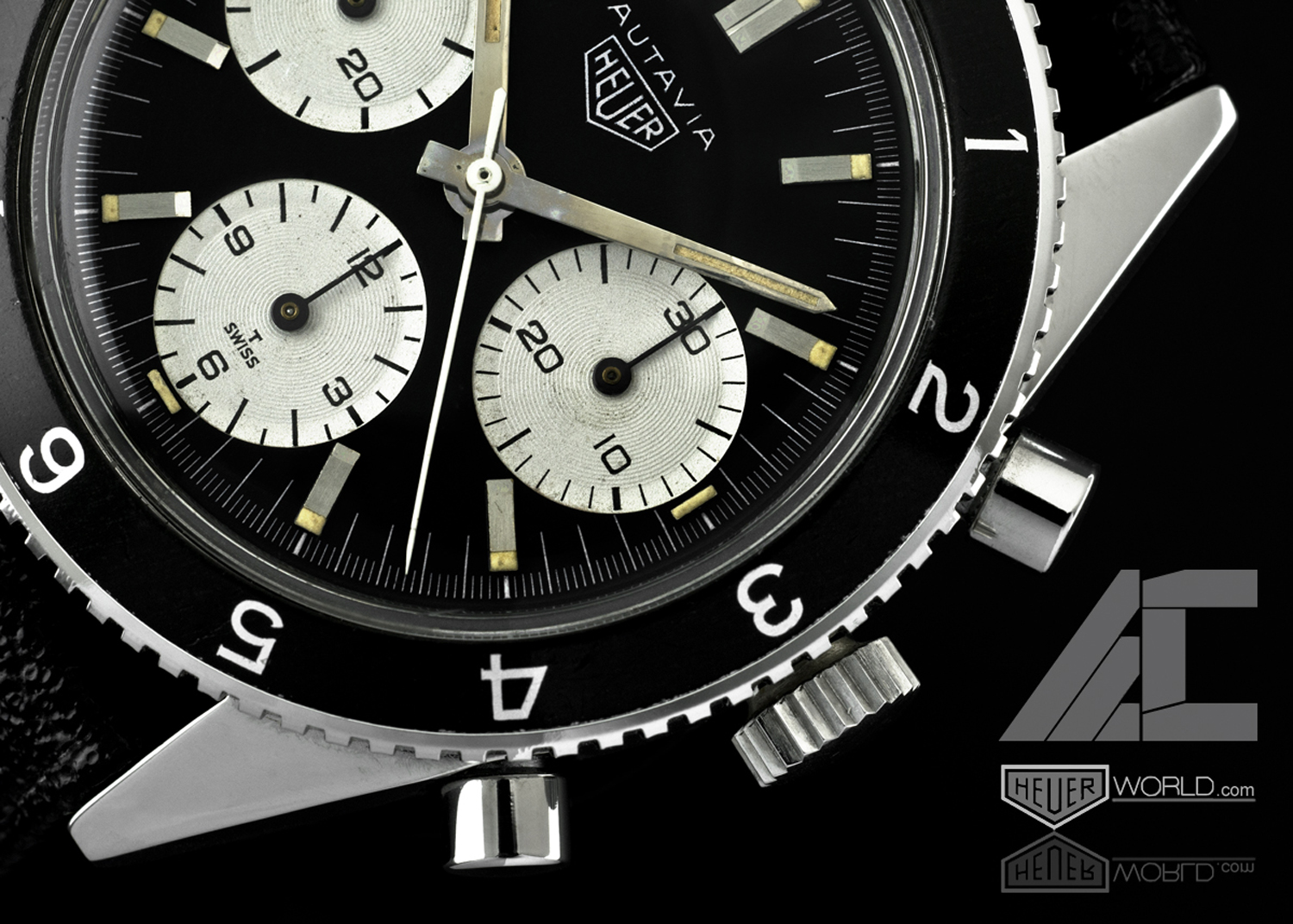 Transitional Autavia -- Dial Detail