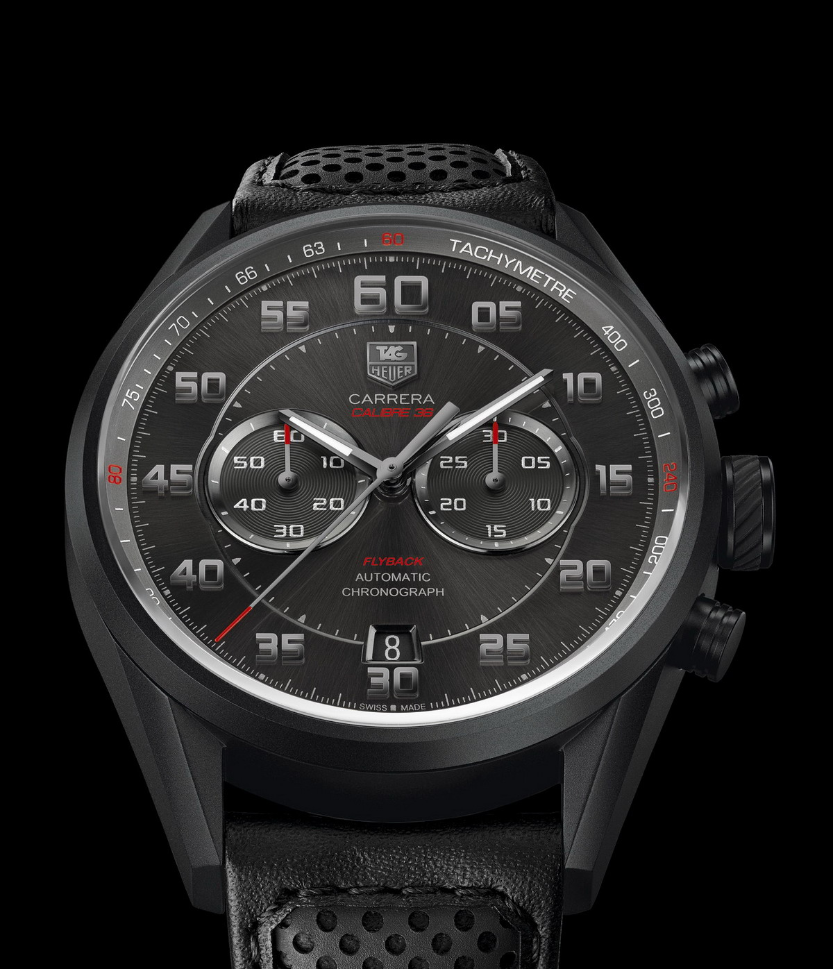 TAG Heuer Carrera Calibre 36 Flyback -- Racing Model