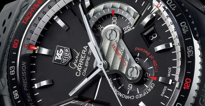 TAG Heuer Grand Carrera Calibre 36 Detail