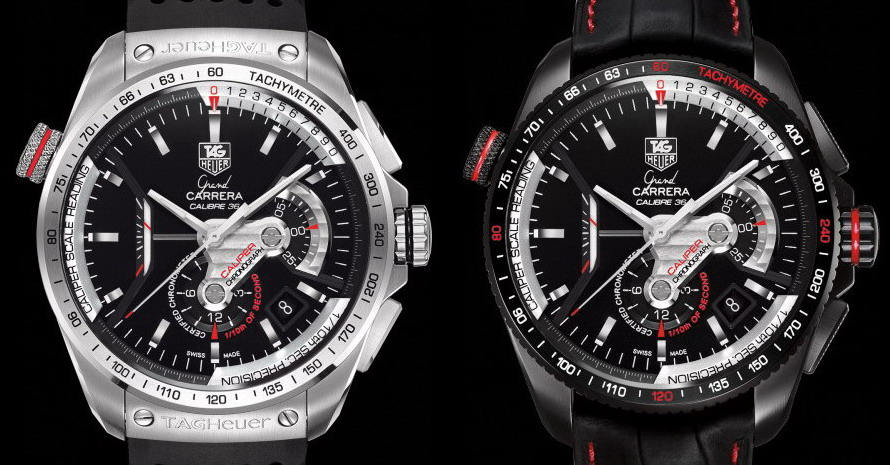 TAG Heuer Grand Carrera Chronographs