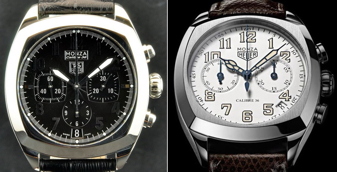 TAG Heuer Monza Chronographs