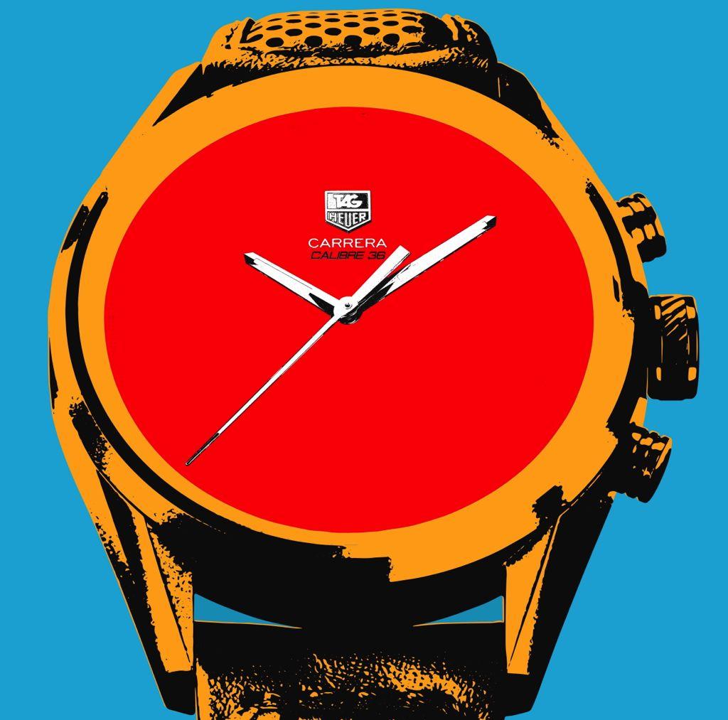 Basel 2013 -- Red Pop Art Carrera