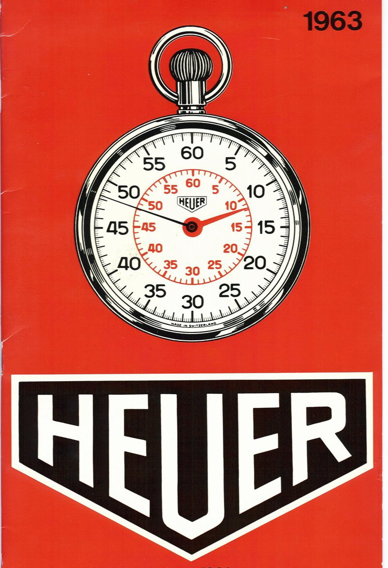 Cover of Heuer Catalog from 1963