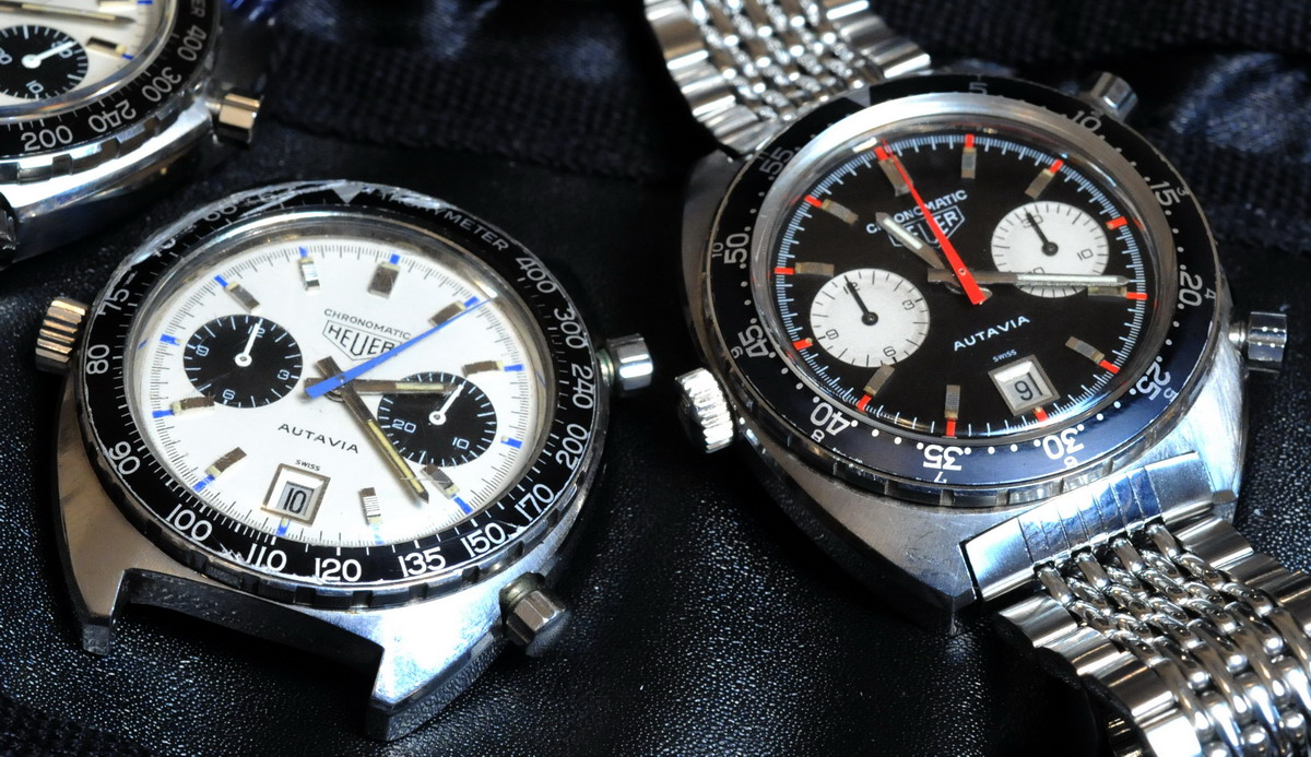 Two Chronomatics -- White and Black