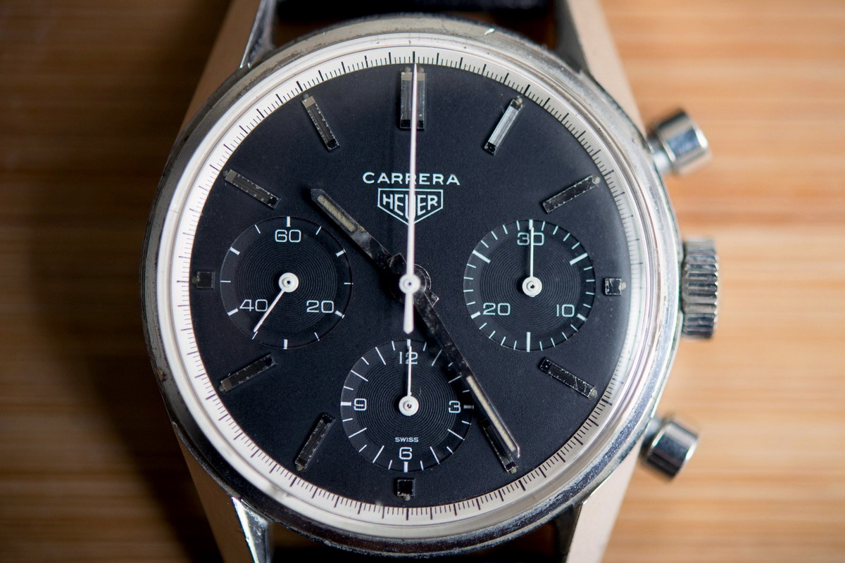 Carrera Ref 2447N from Hodinkee Posting