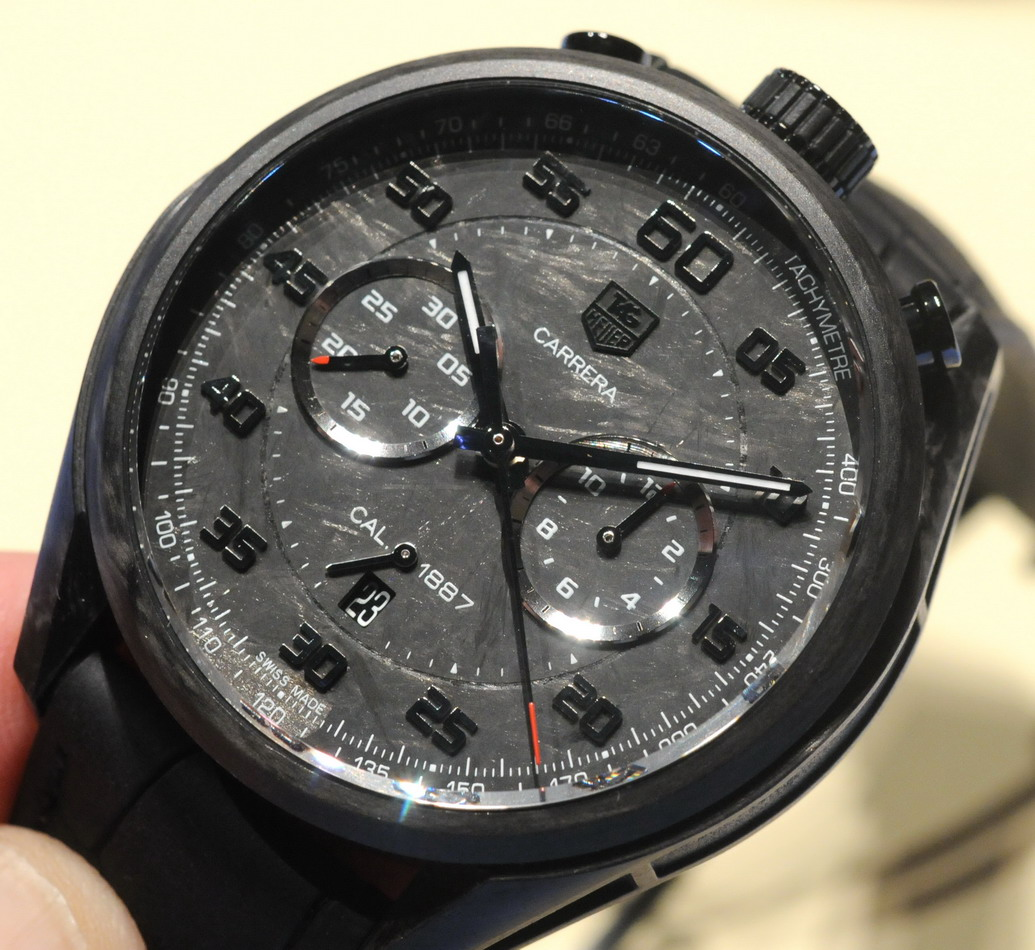 Carrera Carbon Concept Chronograph -- January 2013