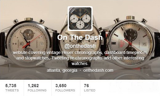 Twitter Screen Shot -- OnTheDash