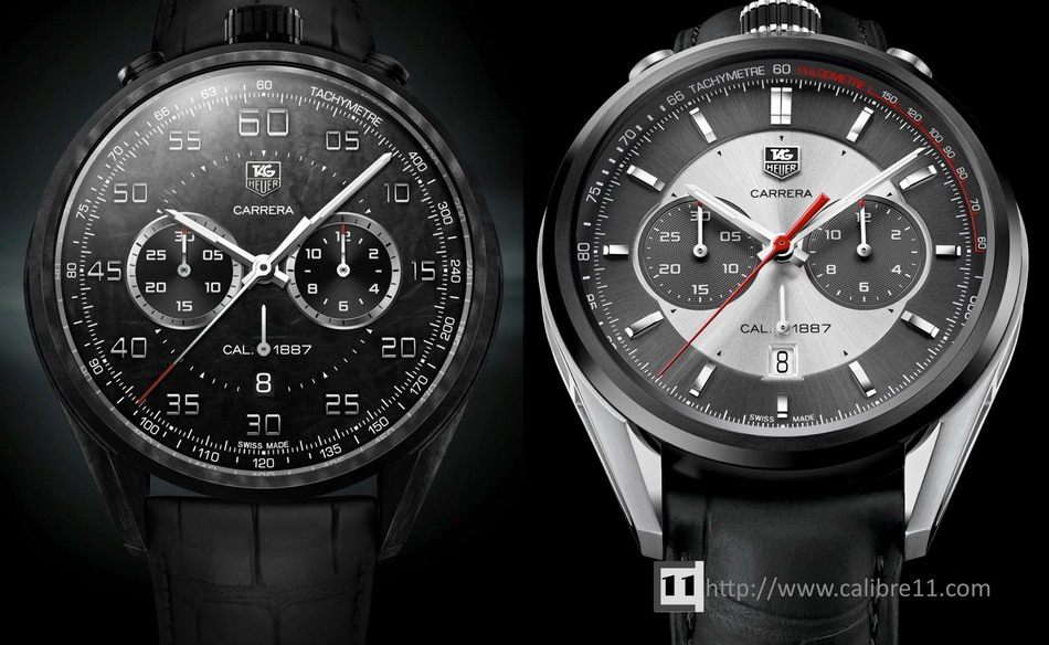 Carbon Carrera and Jack Heuer 50th Anniversary Carrera