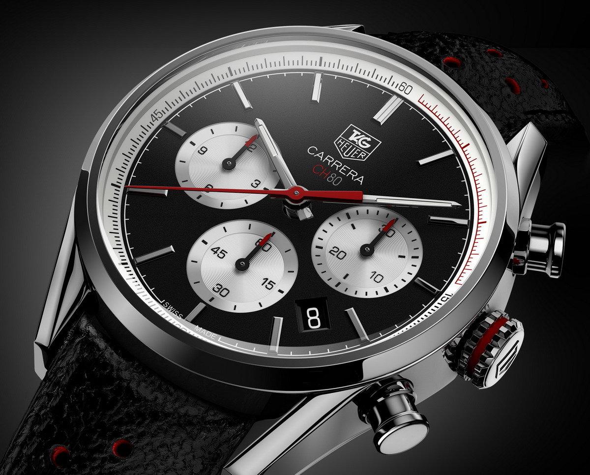 TAG Heuer Carreras CH80 -- Black Version