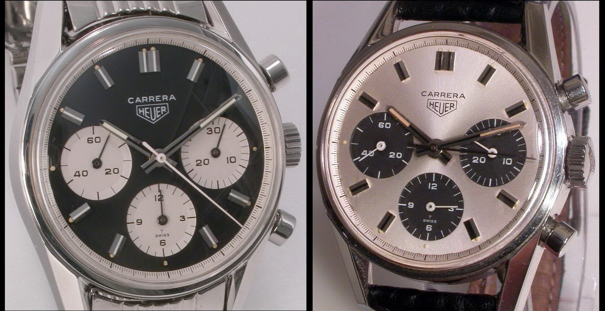 Heuer Carreras, Reference 2447 -- Contrasting Regsiters