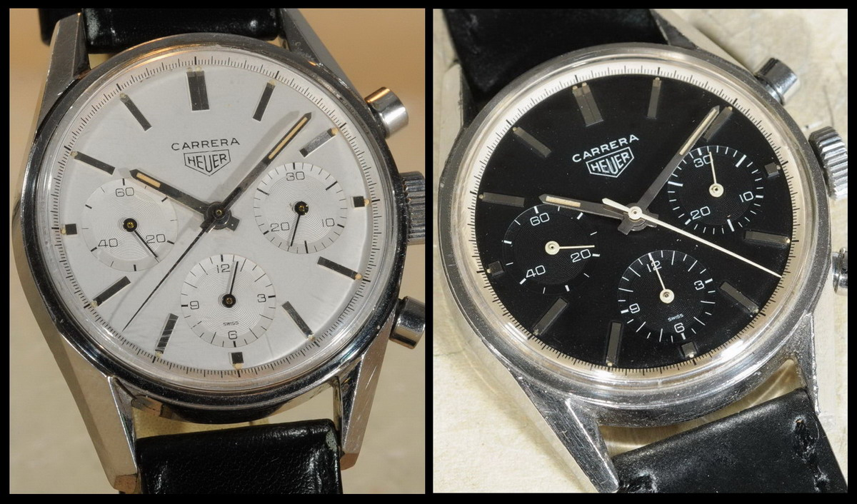 Heuer Carreras, Reference 2447 -- Early Versions