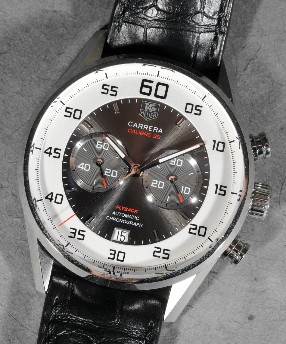 TAG Heuer Carrera Calibre 36 Flyback -- Dial