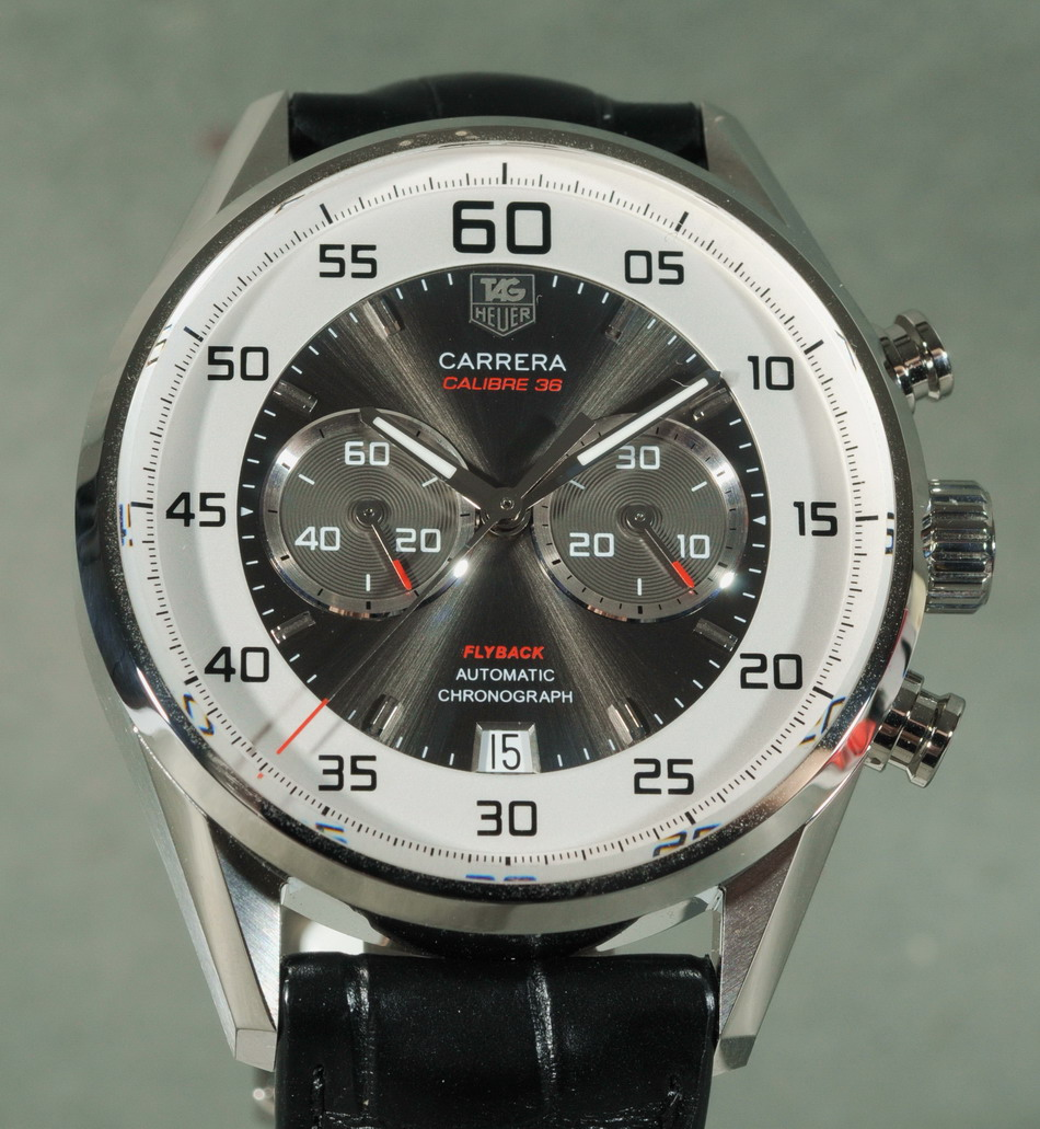 af92d7135328 Carrera Calibre 36 Flyback Chronograph — Full Review « On The Dash