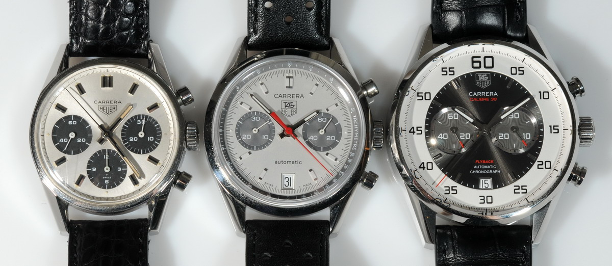TAG Heuer Carrera Calibre 36 Flyback -- Colors