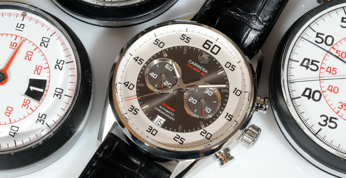 TAG Heuer Carrera Calibre 36 Flyback with Stopwatches