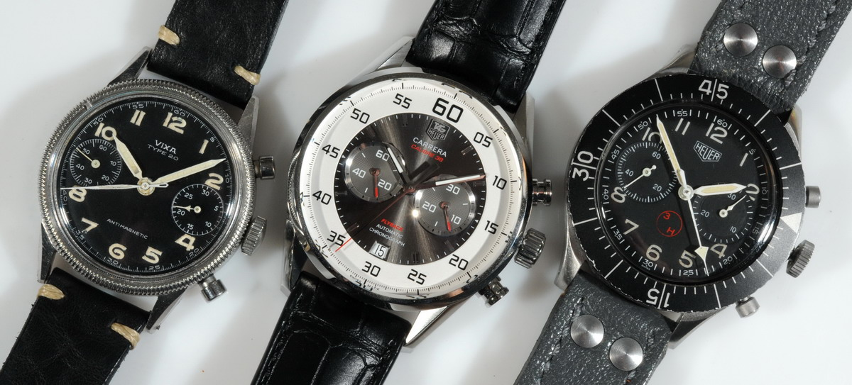 TAG Heuer Carrera Calibre 36 Flyback with Pilots Chronographs