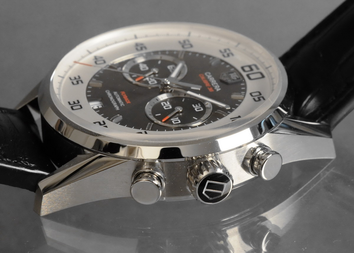 TAG Heuer Carrera Calibre 36 Flyback -- Profile