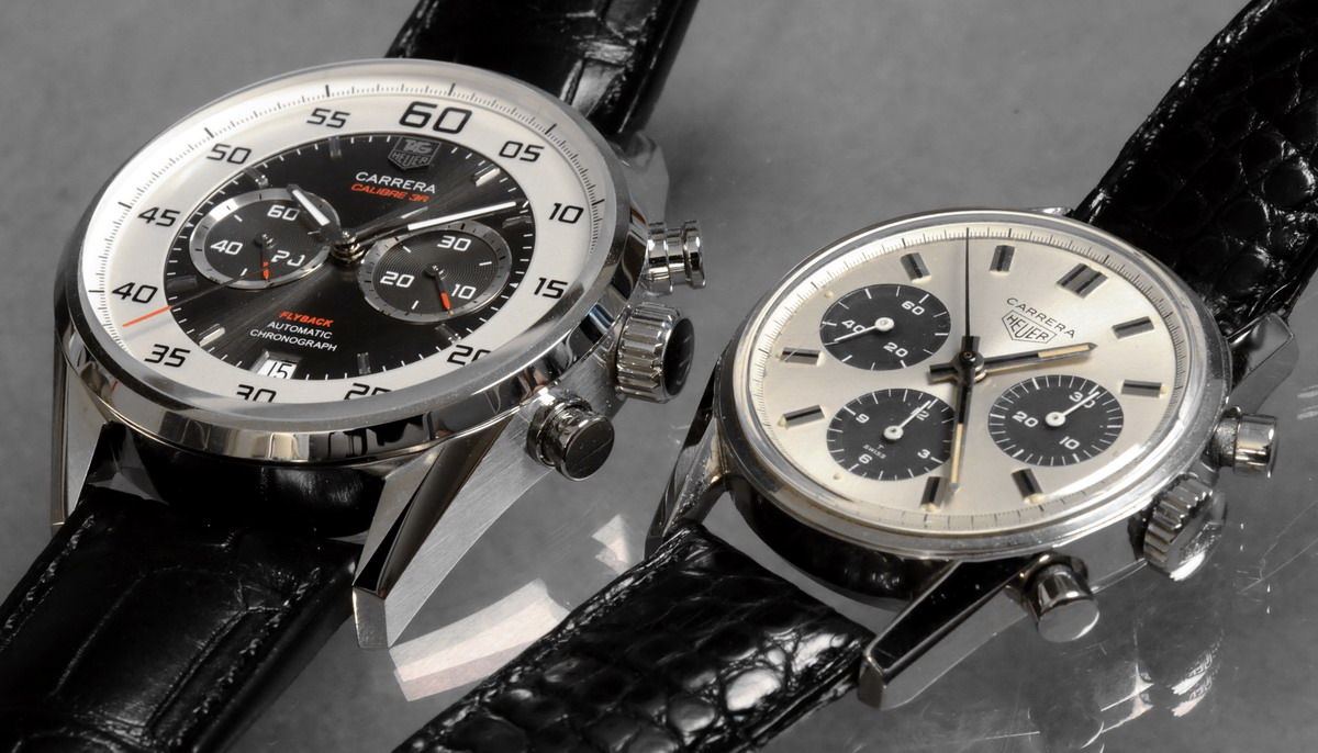 TAG Heuer Carrera Calibre 36 Flyback with Vintage Carrera