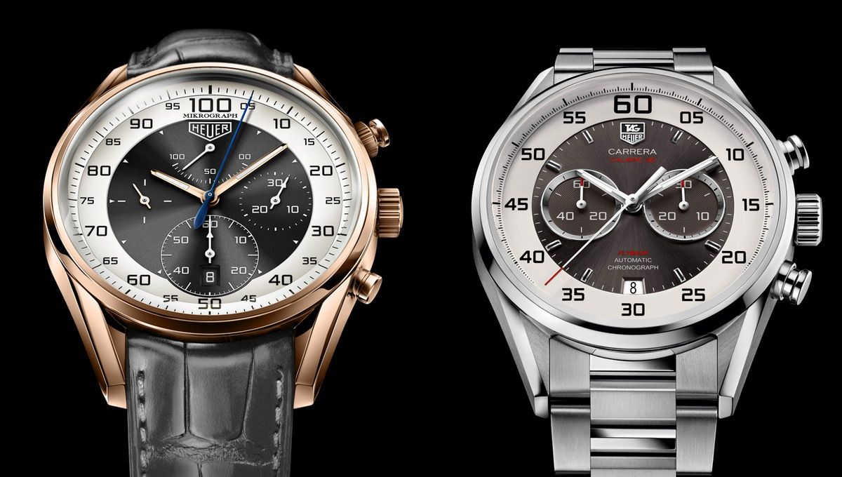 TAG Heuer Mikrograph and Calibre 36 Flyback