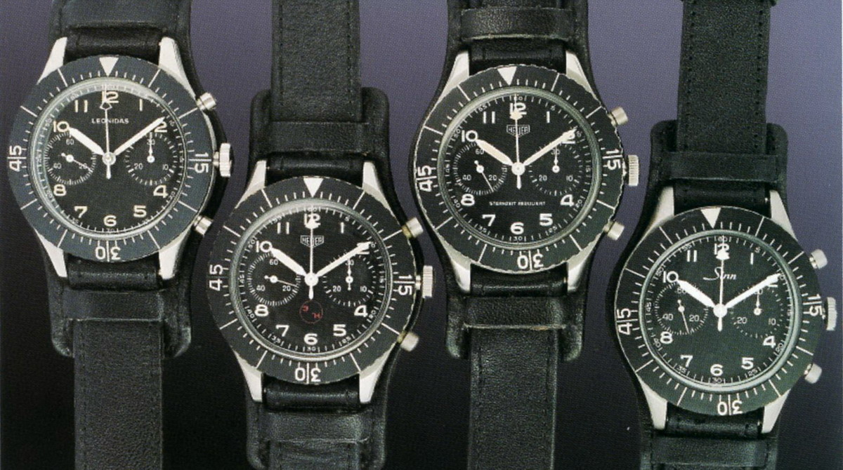 Bundeswehr Flyback Chronographs from the 1960s