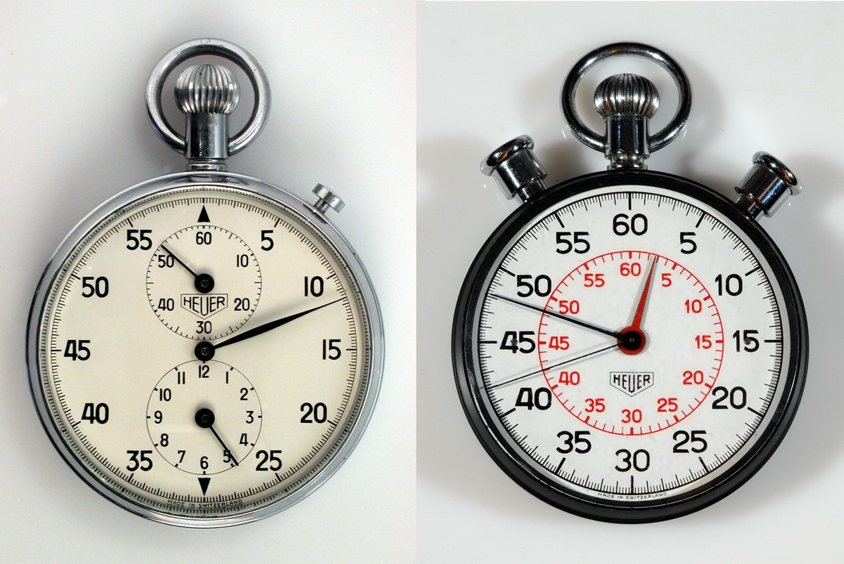Heuer Stopwatches Used by John Glenn and For Lunar Landing
