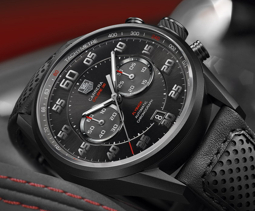 TAG Heuer Carrera Calibre 36 Flyback -- Racing