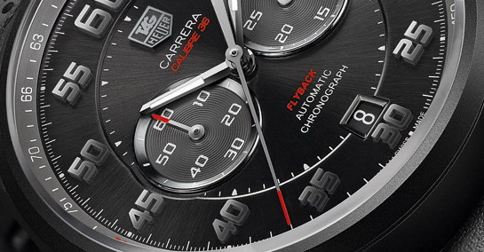 TAG Heuer Carrera Calibre 36 Flyback Racing -- Detail