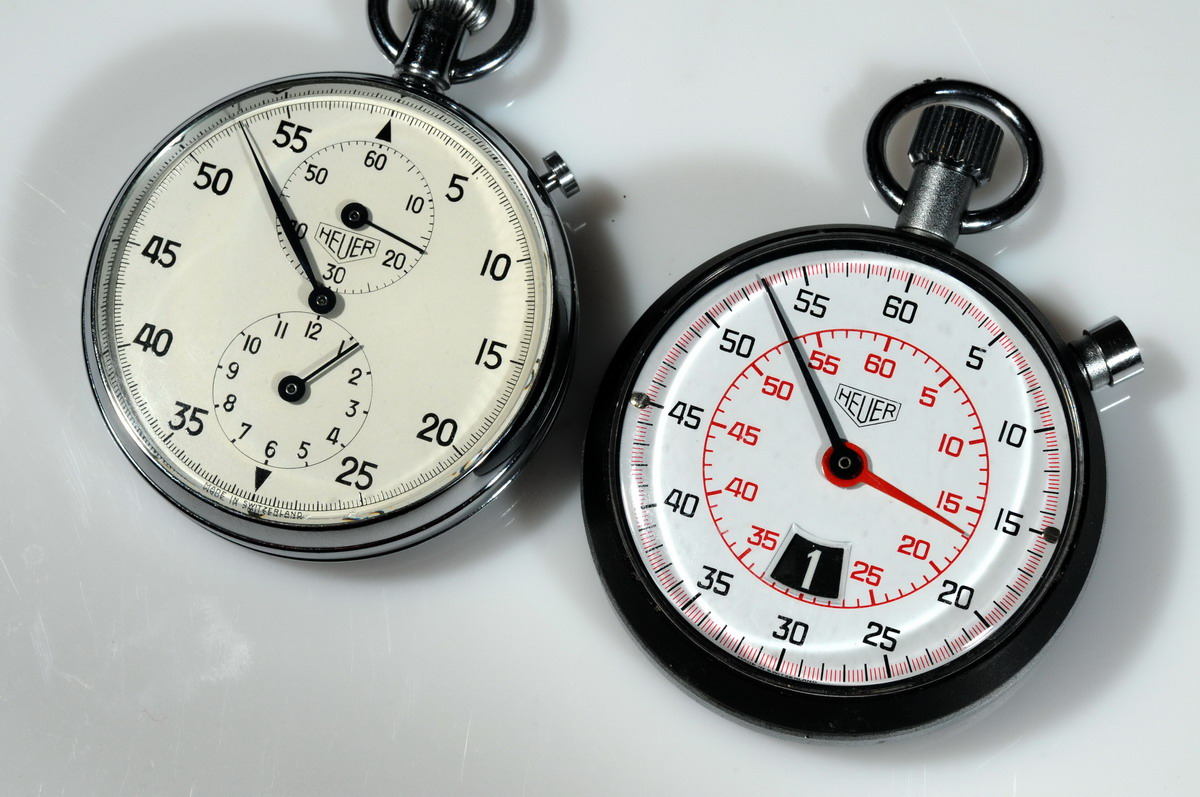 Heuer Century Stopwatch and Older Model