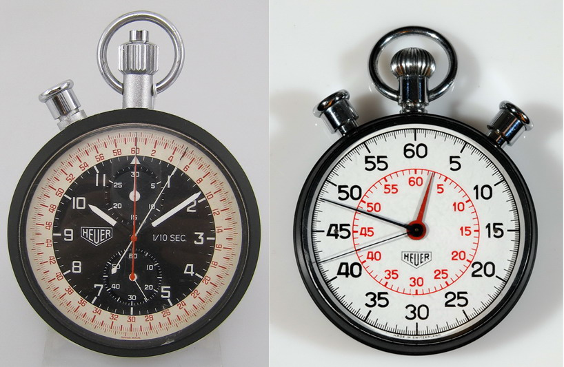 Heuer Split Second Chronograph and Stopwatch