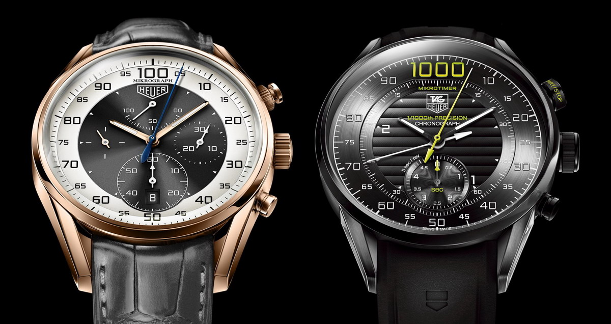 TAG Heuer Stopwatch Inspired Chronographs