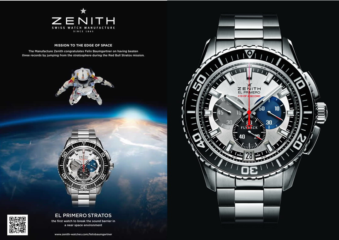 Zenith Stratos Flyback Chronograph