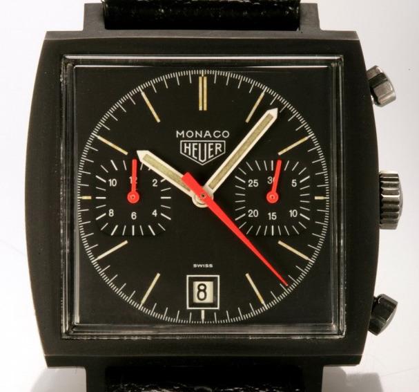 Heuer Black PVD Monaco Reference 74033N