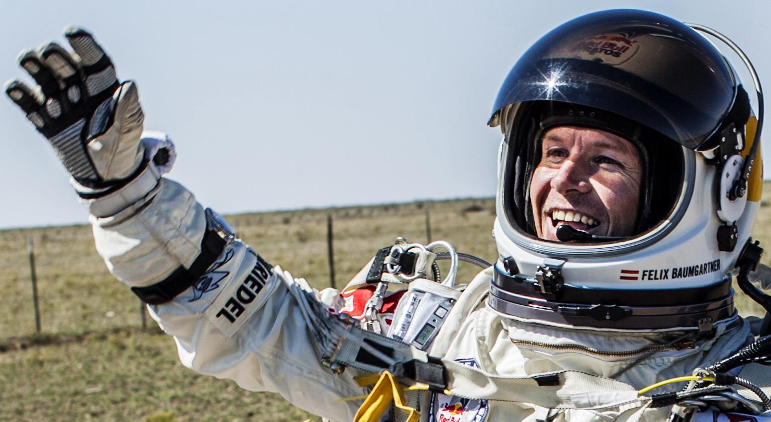 Felix Baumgartner Landing