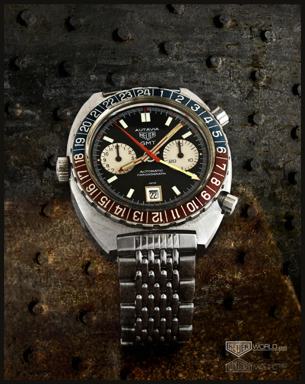 Heuer Autavia GMT, Reference 1163