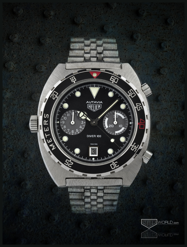 Heuer Autavia Diver 100, Reference 11063