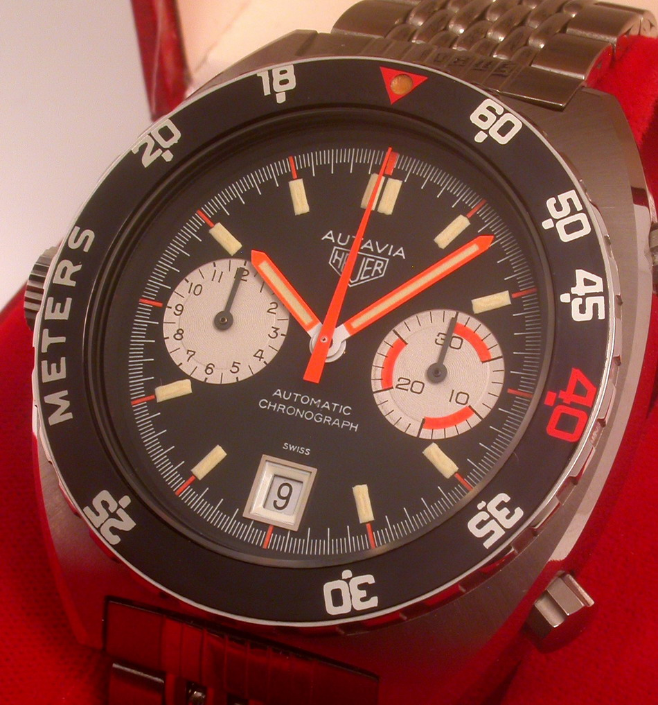Reference Photo of the Heuer Autavia, Reference 11630P