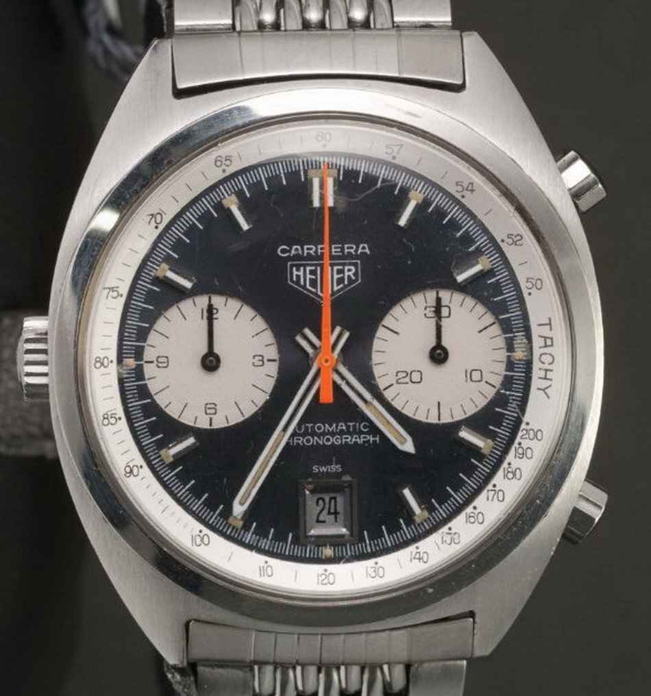 Reference Photo of the Heuer Carrera, Reference 1153N