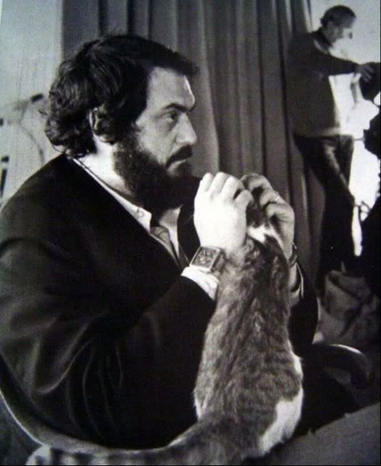 Stanley Kubrick Wearing Heuer Monaco