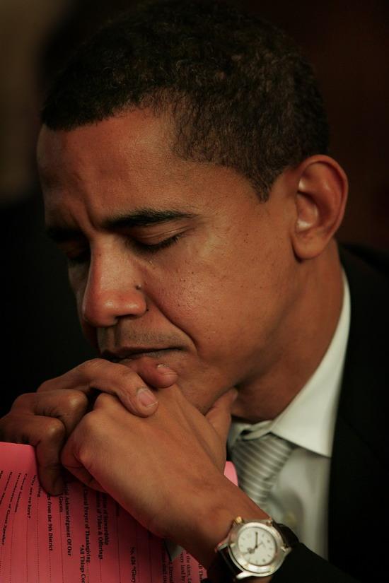 Barack Obama Wearing TAG Heuer Series 1500